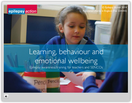 epilepsy for schools i frame